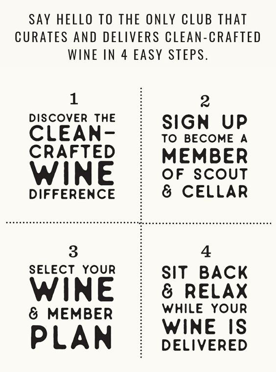 Say Hello to Clean-Crafted Wine in 4 easy steps. https://bit.ly/2Kd1vak