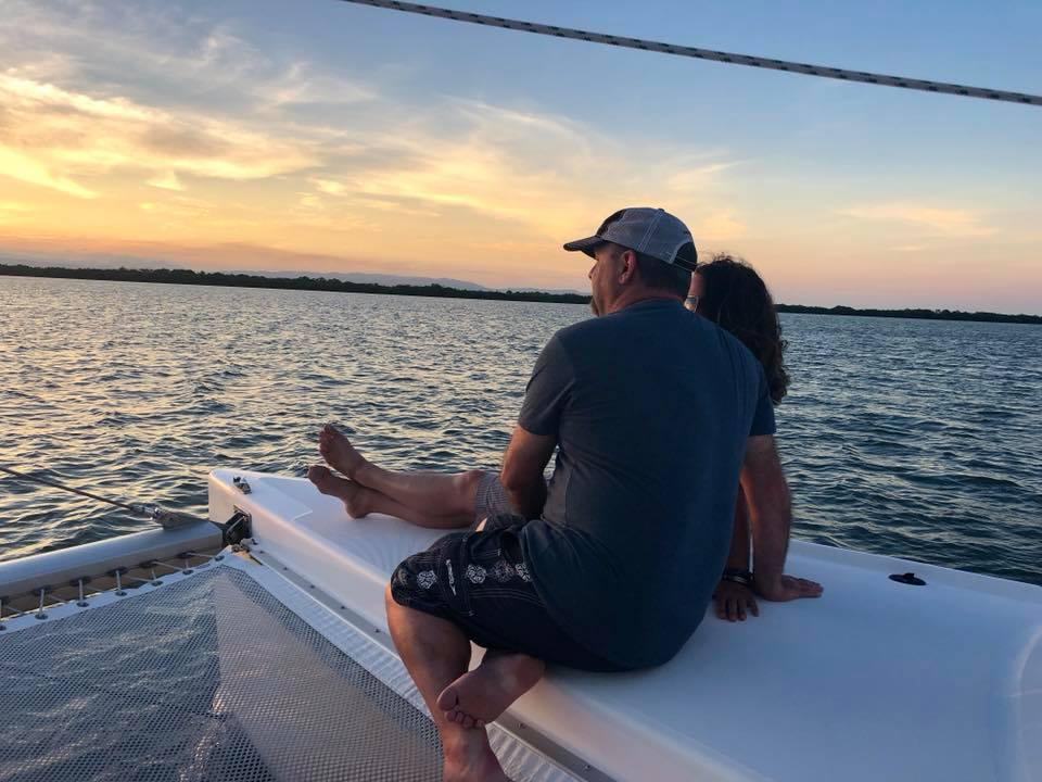 Sunset sail with Nuatical Adventures Belize.