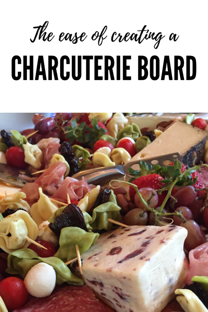 Tiffany Eckhardt, founder of Flown The Coop and Scout & Cellar Wine Consultant: discovers the ease of creating a charcuterie board