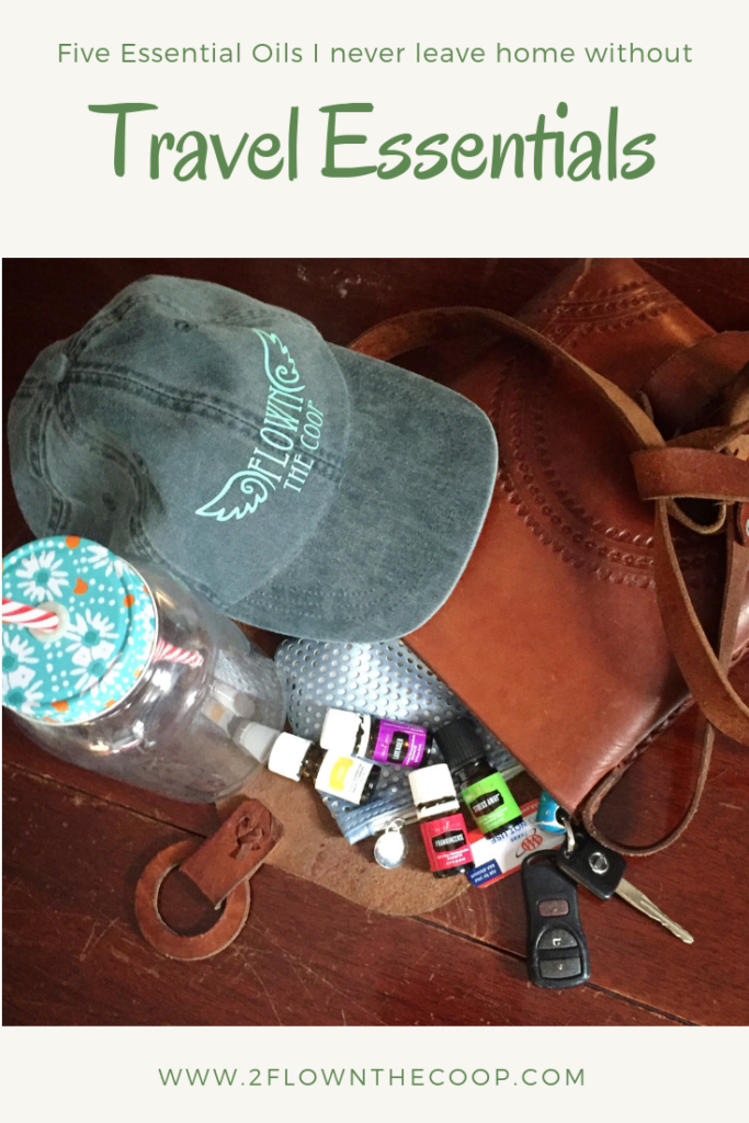 Flown The Coop Travel Essentials, 5 Essential Oils that I never leave home without
