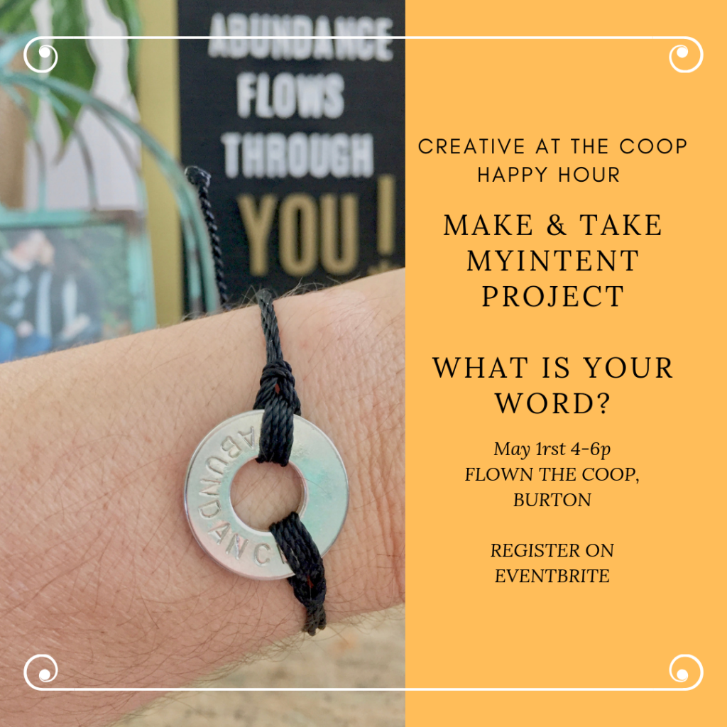 Creative At The Coop is THE monthly event to connect with local creatives