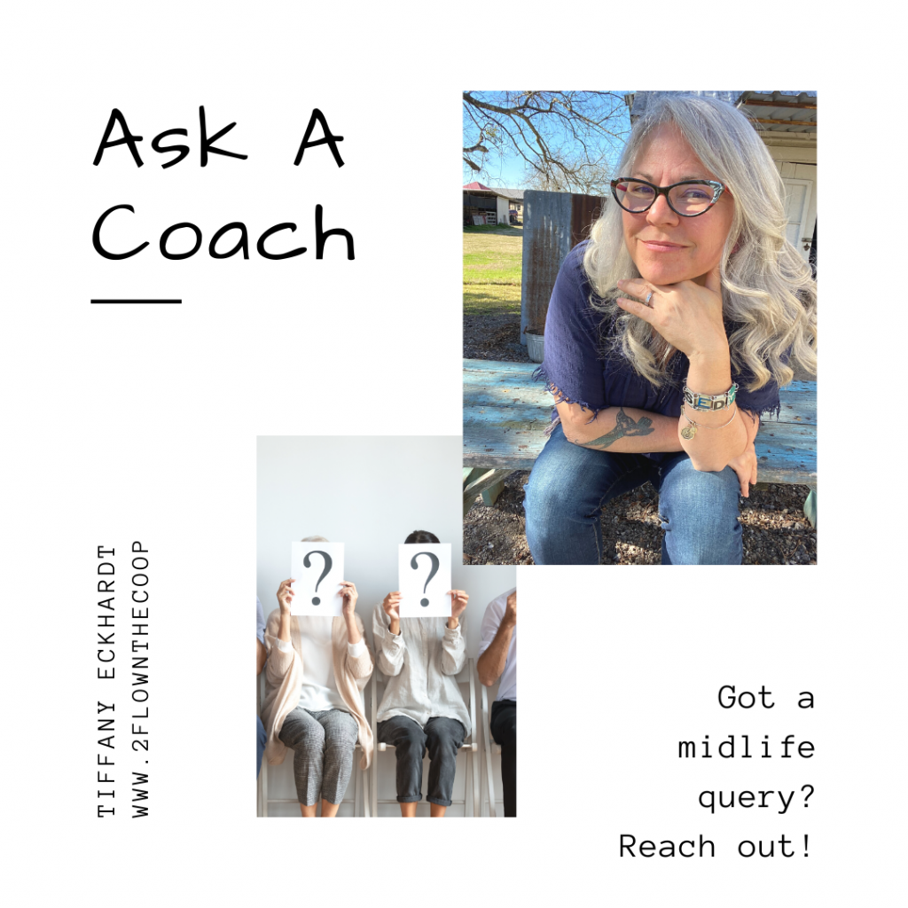 """Tiffany Eckhardt, Master of Reinvention and Certified Life Coach helping midlife women answer the question, """"What's next?"""""""
