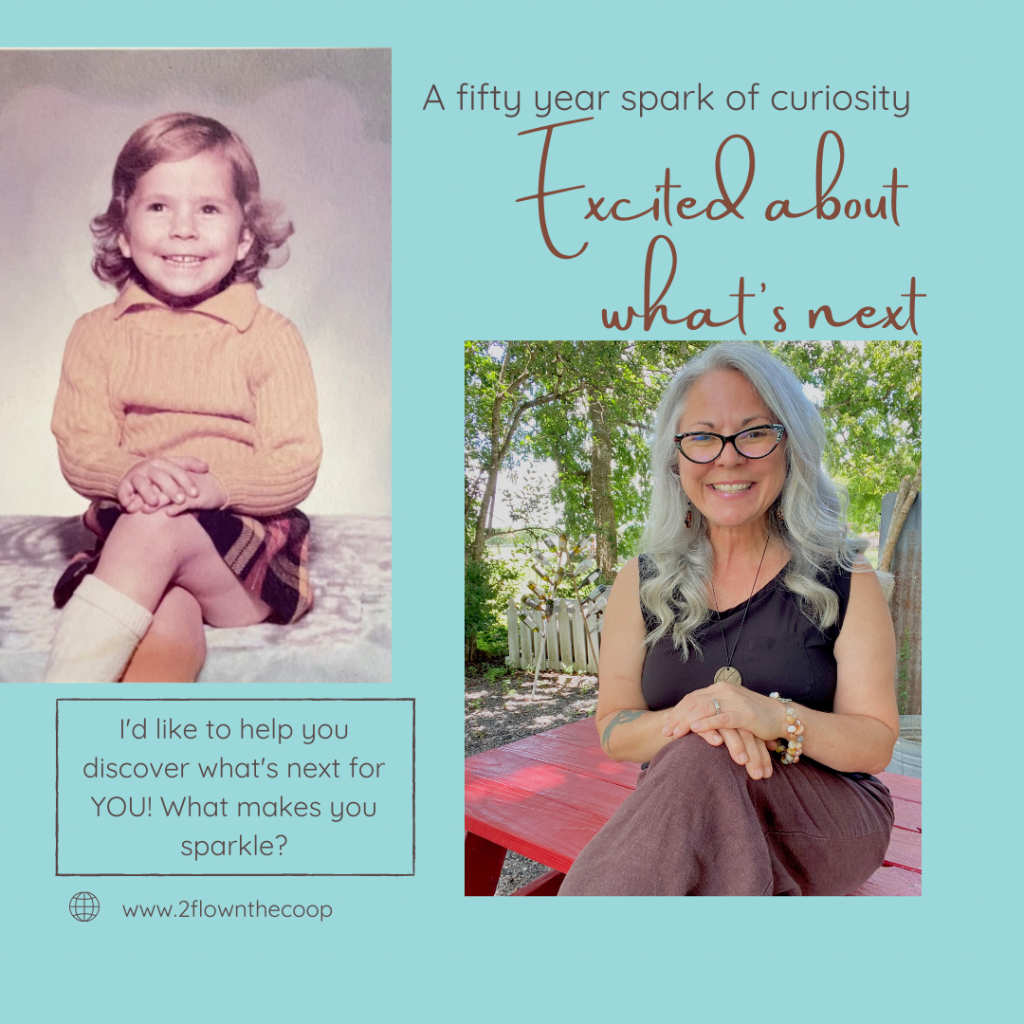 Tiffany Eckhardt, master of reinvention and certified life coach helping midlife women answer the question what's next.